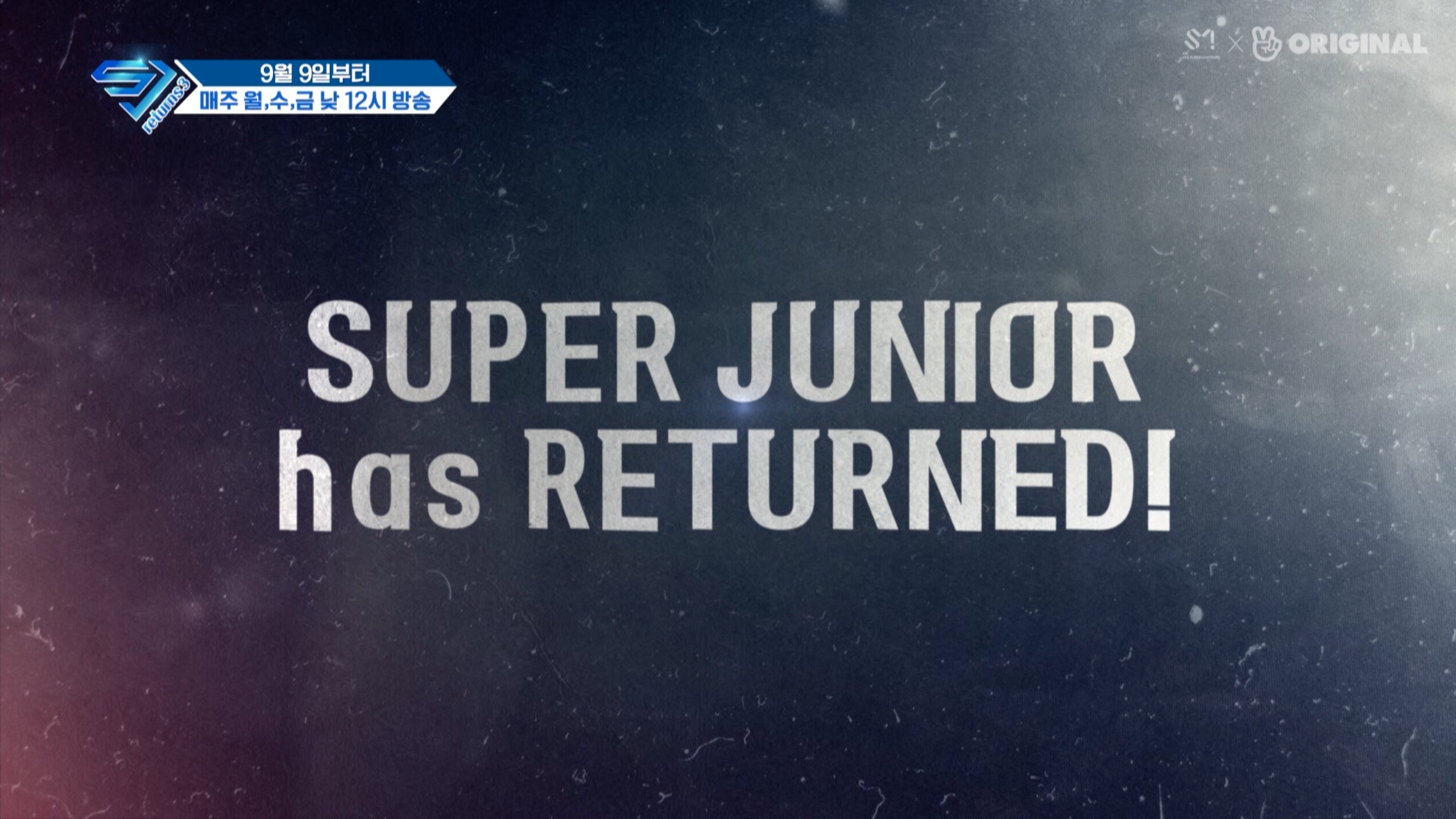 티저1. SUPER JUNIOR has RETURNED!