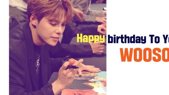 [MASC/마스크]Happy Birthday To WOOSOO