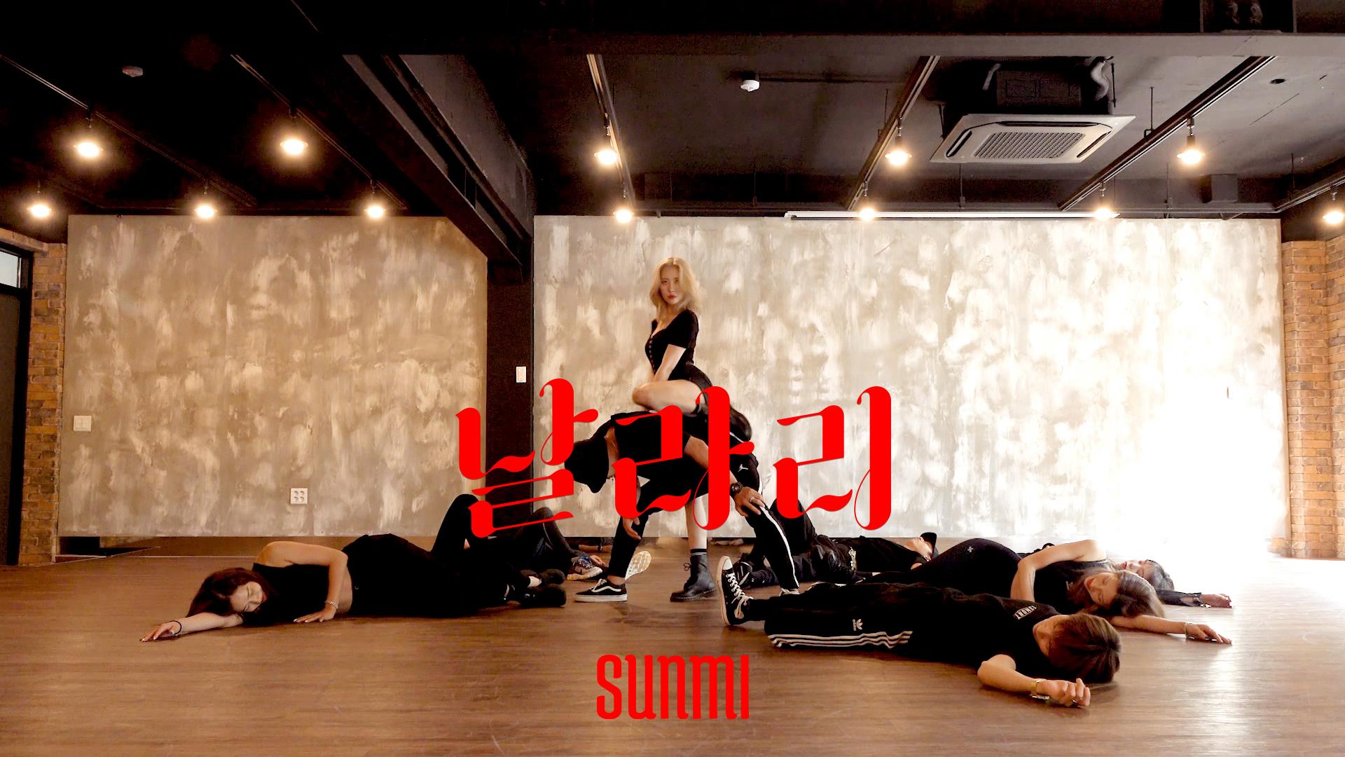 [Choreography Practice] 선미 (SUNMI) '날라리(LALALAY)' 안무 연습 영상