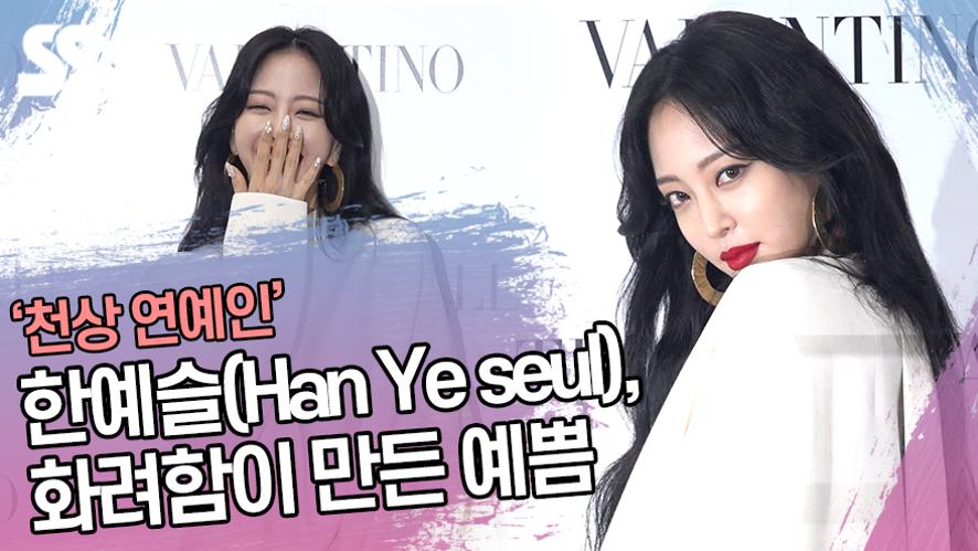 한예슬(Han Ye seul), 화려함이 만든 예쁨 '천상 연예인' (발렌티노 포토월)