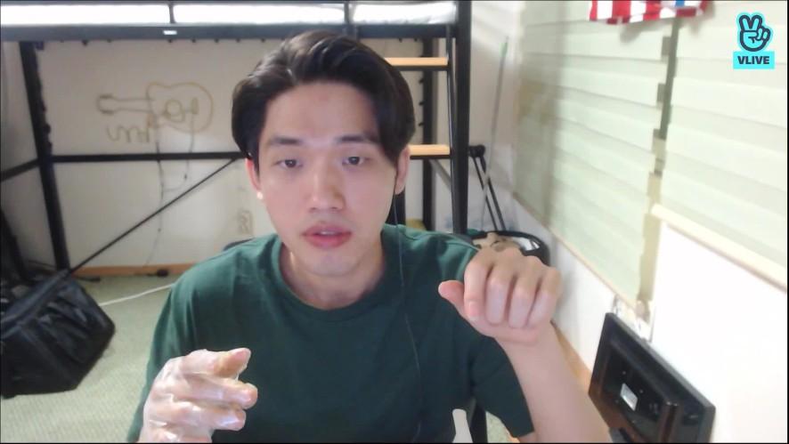 조문근밴드(MOON BAND)홍휴 개인방송 치킨먹방 그리고 축구응원