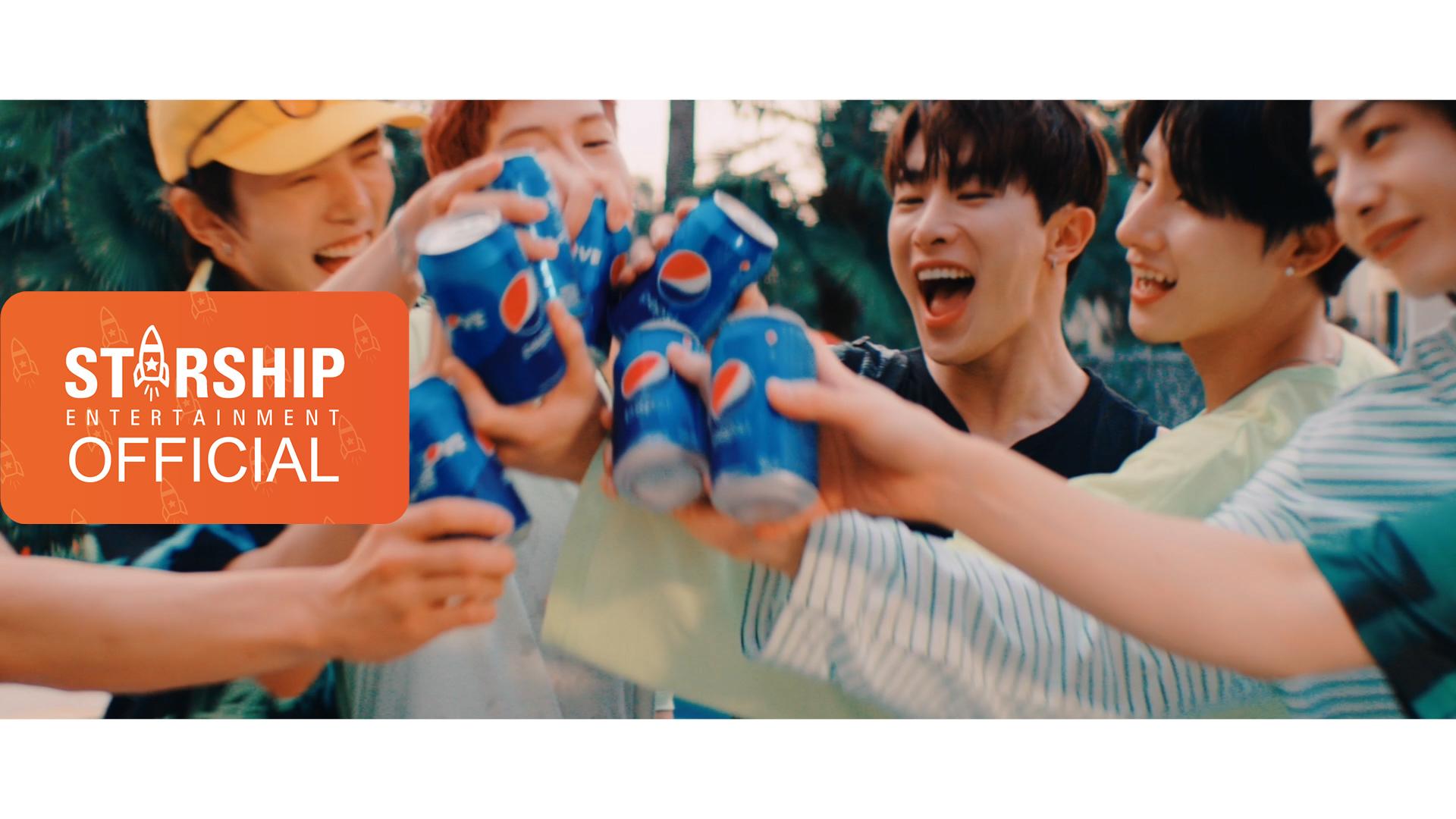 [Teaser] Monsta X – Pepsi For The Love Of It (Korean Version)