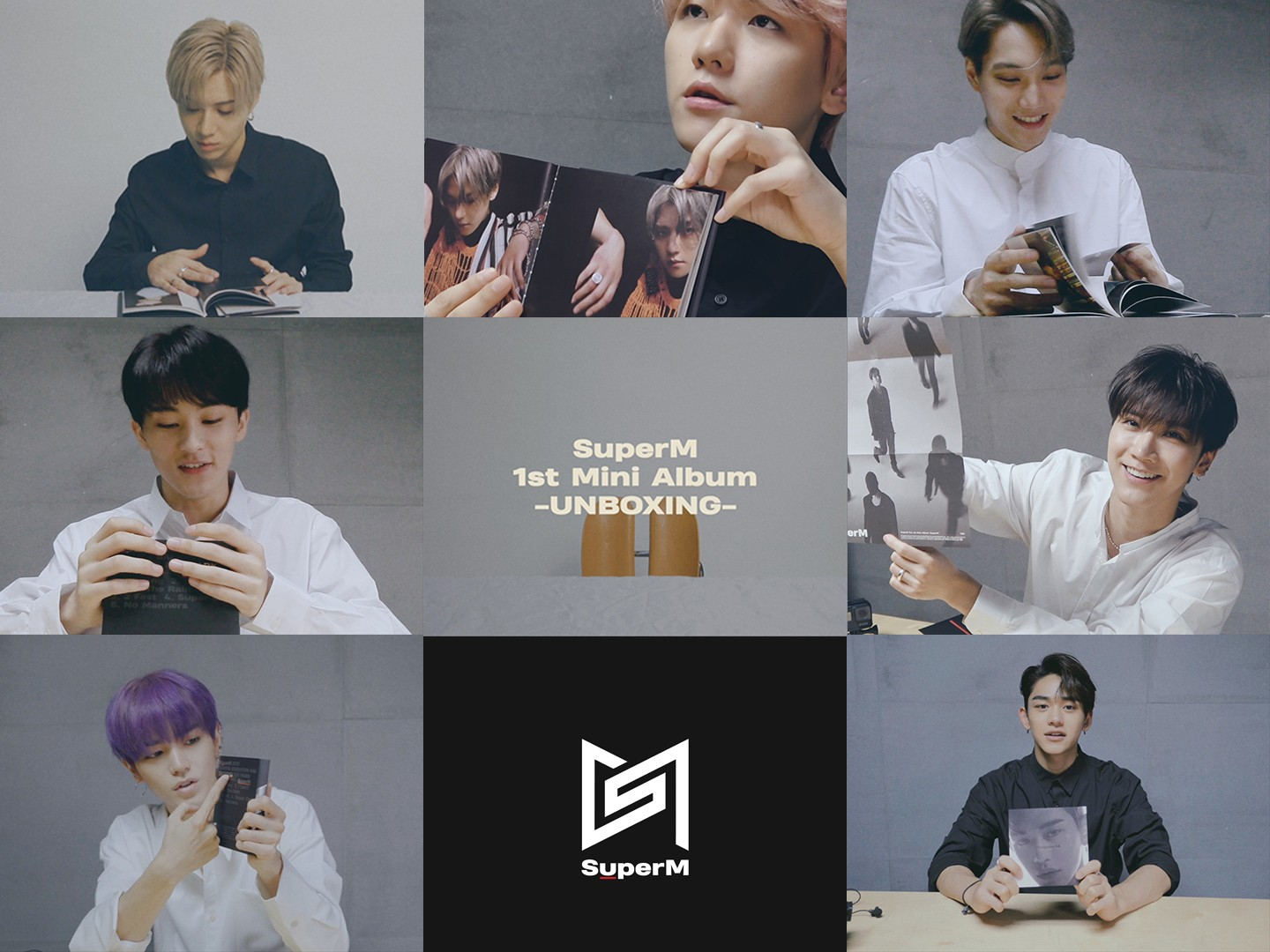 [SPOILER] UNBOXING : SuperM - The 1st Mini Album (Individual Ver.)
