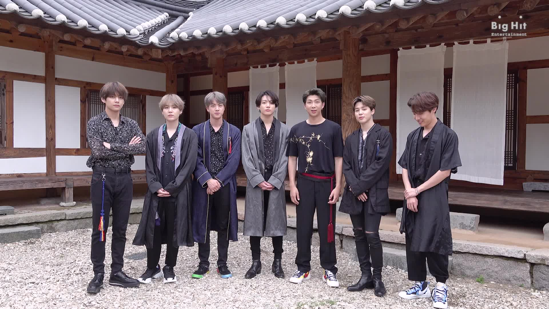 BTS (방탄소년단) Happy Chuseok Greeting