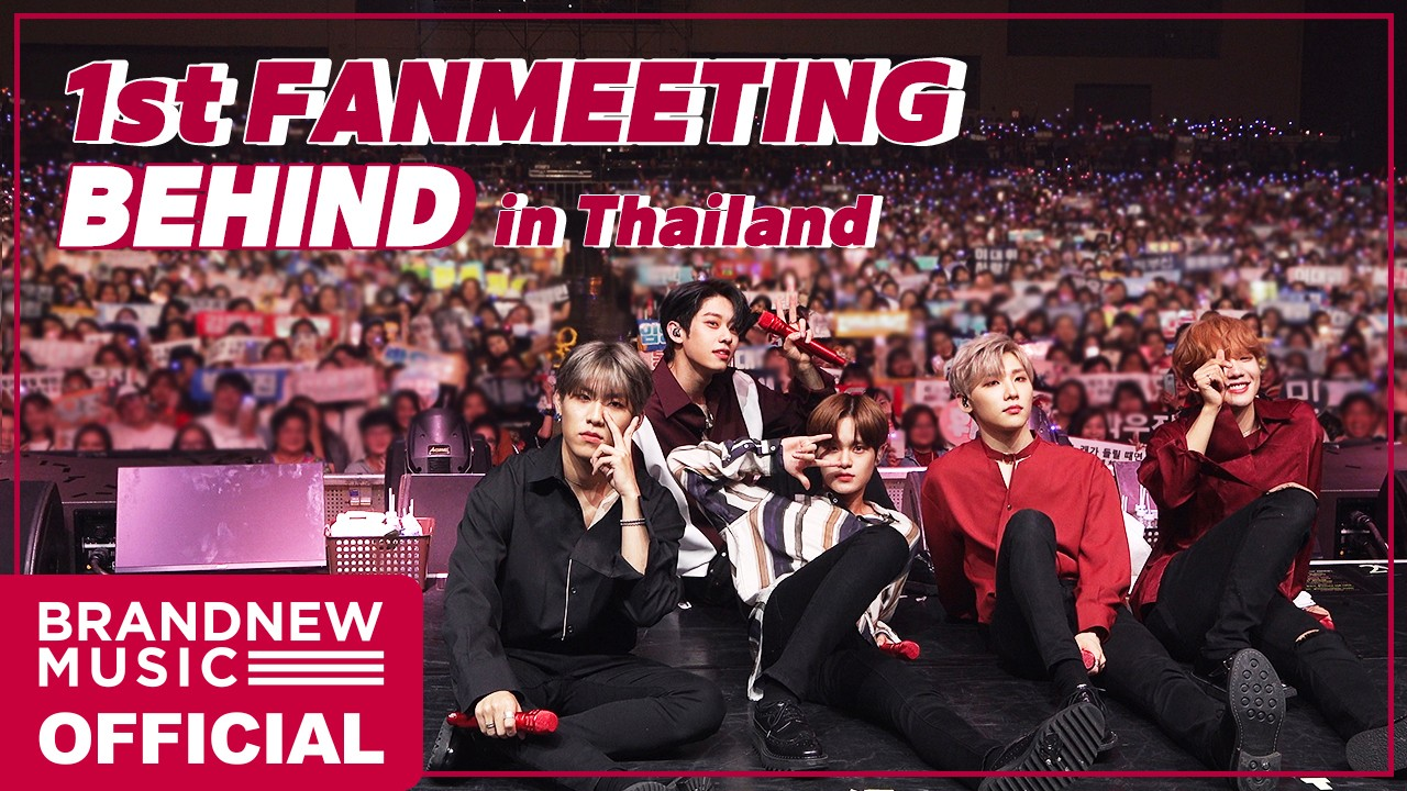 [예삐소드] AB6IX (에이비식스) 1ST FANMEETING BEHIND IN THAILAND