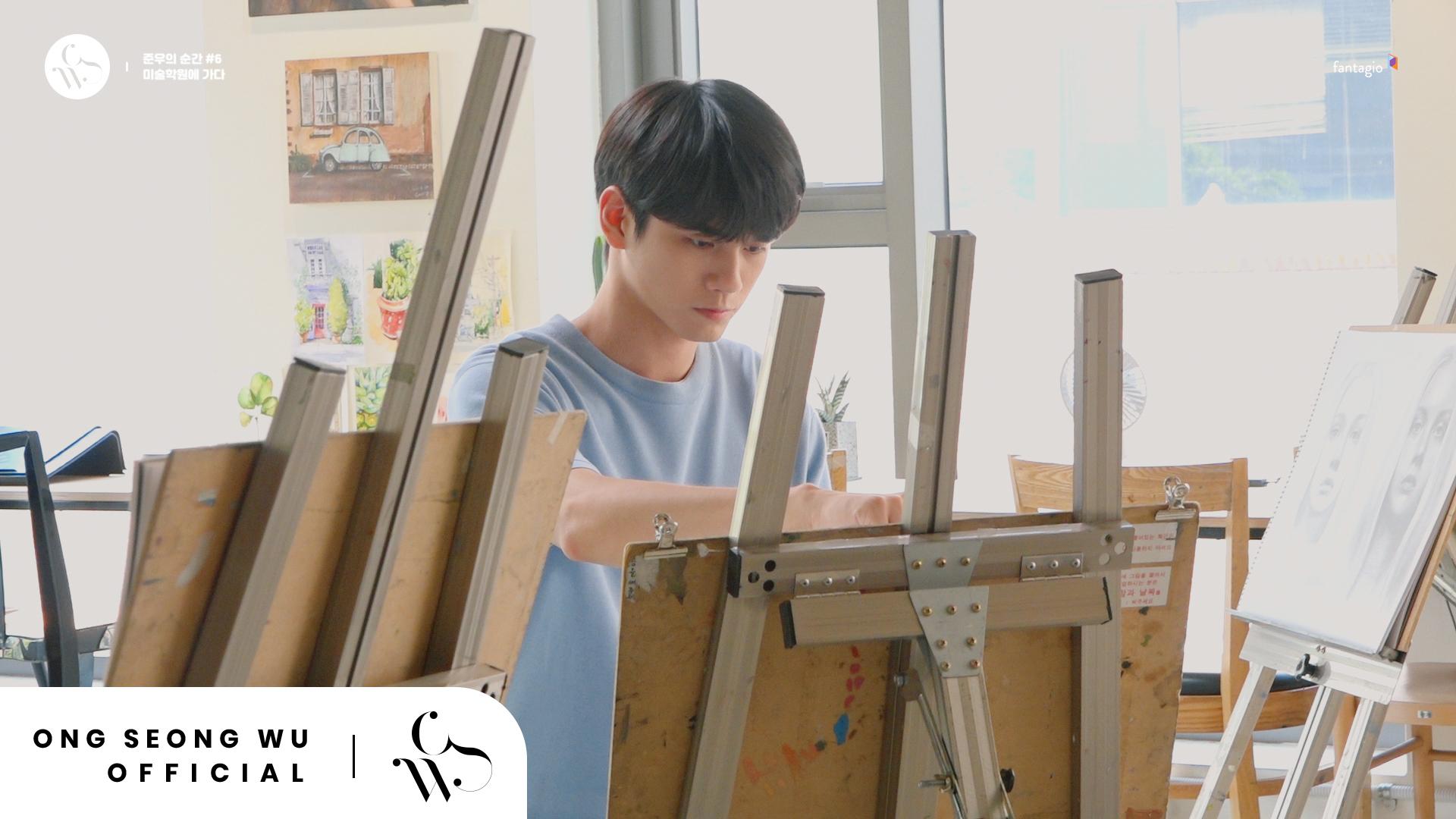 ONG SEONG WU 옹성우 - [준우의 순간] #6 마지막의 순간