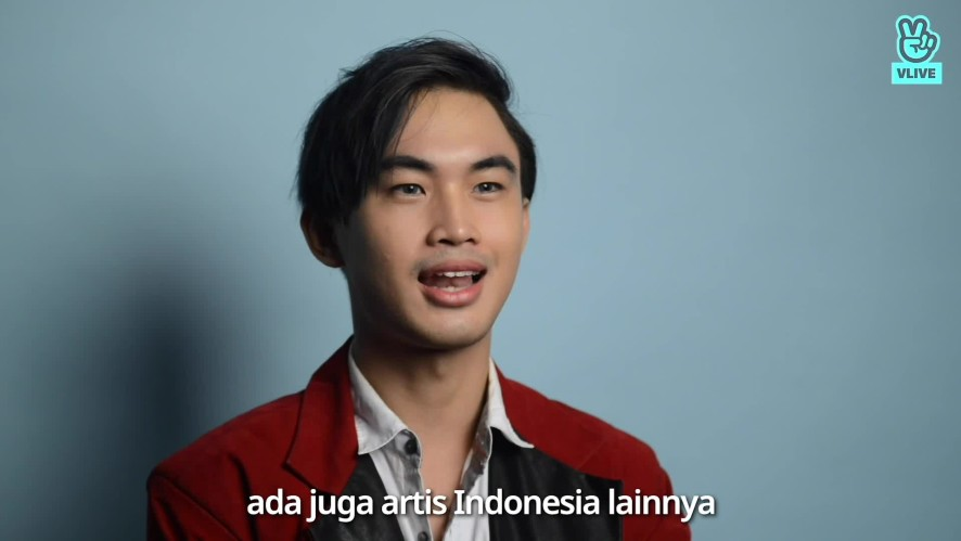Rendy Pritz Greeting Video for VLIVE Indonesia
