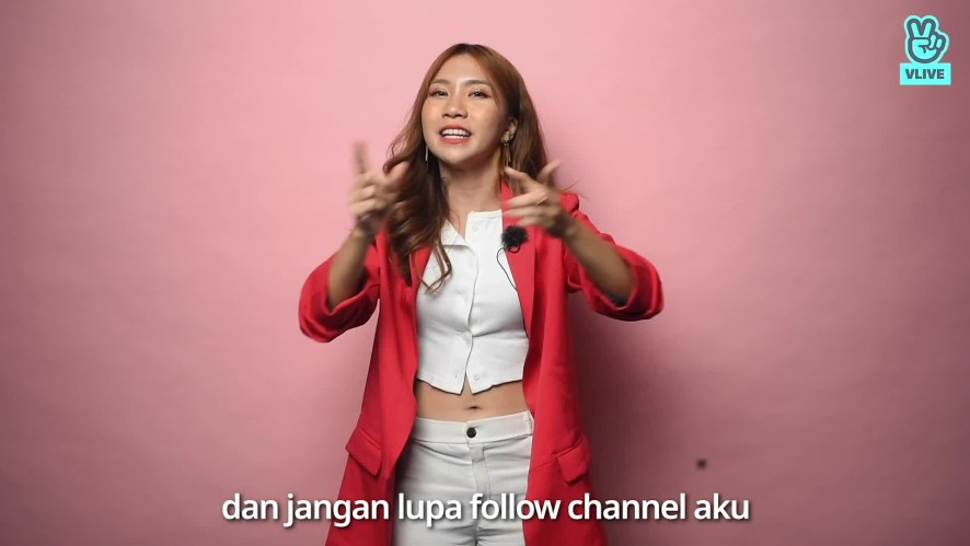 Natya Shina Greeting Video for VLIVE Indonesia