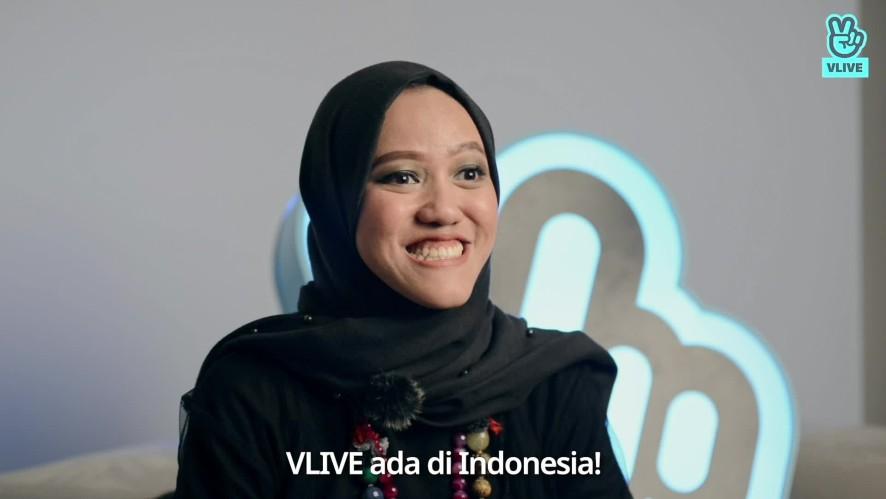 Tiffani Afifa Greeting Video for VLIVE Indonesia