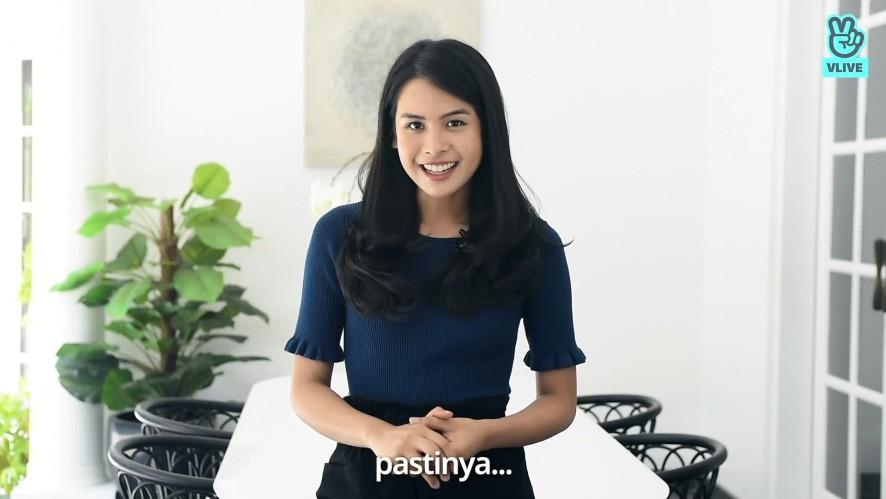 Maudy Ayunda Greeting Video for VLIVE Indonesia
