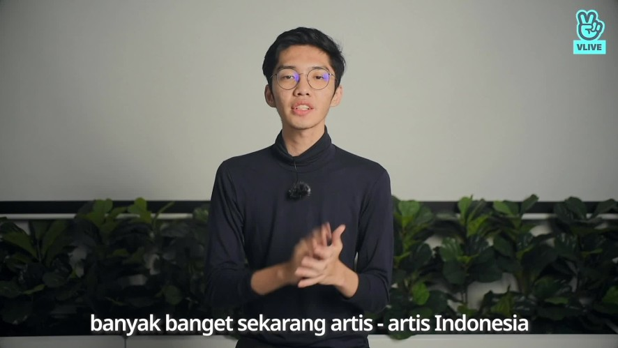 Geraldy Tan Greeting Video for VLIVE Indonesia