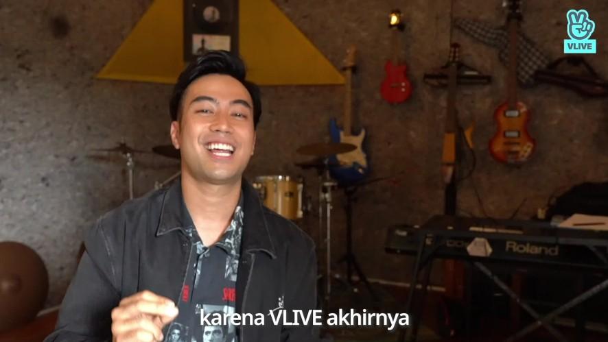 Vidi Aldiano Greeting Video for VLIVE Indonesia