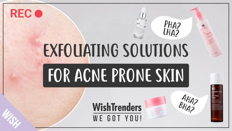 Wrong Exfoliation Worsens Acne! | AHA, BHA, LHA, PHA? Perfect Skin Types for Each
