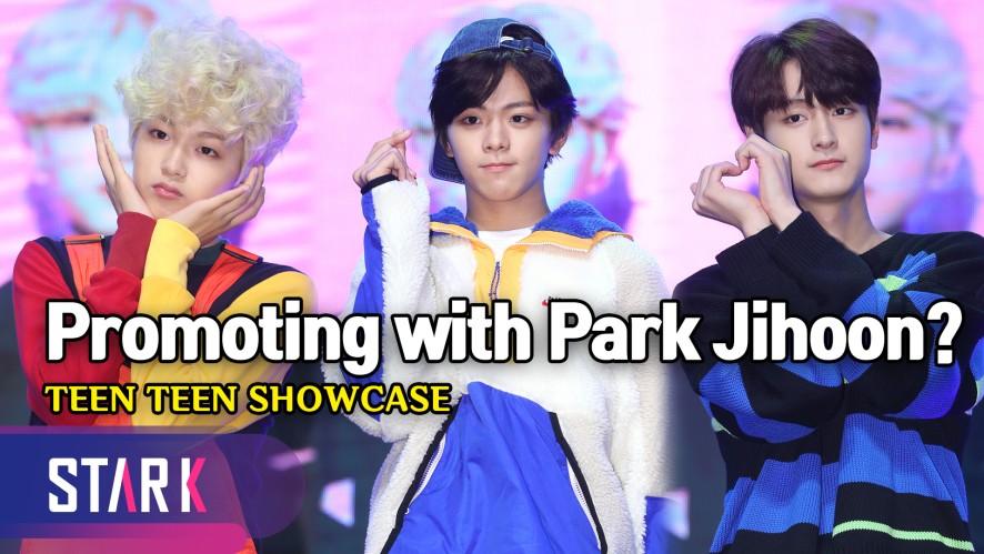 '마루 보이즈' 틴틴, 박지훈과 함께 활동? (Promoting with Park Ji Hoon?, TEEN TEEN SHOWCASE)