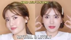 내추럴 & 러블리 헤어 땋는방법 NATURAL & LOVELY HAIR SELF STYLING