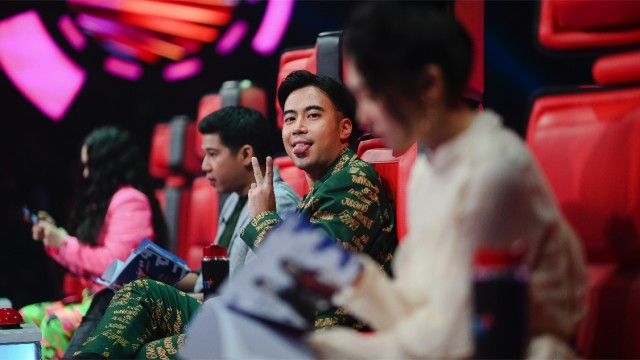Behind the scene The Voice Indonesia