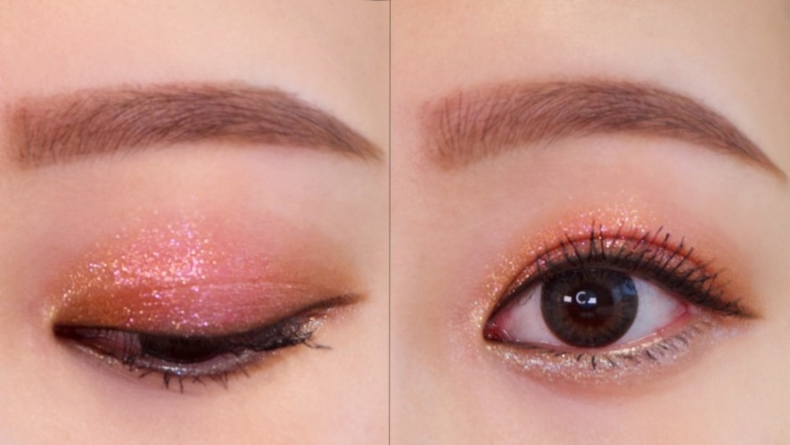 Eye makeup filled with fall emotions!! Eyeshadow that even newbies can do │ Sojeong