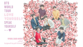 BTS WORLD TOUR 'LOVE YOURSELF: SPEAK YOURSELF' in Saudi Arabia