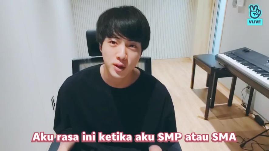[V PICK!] Jin Bercerita Tentang Liburannya