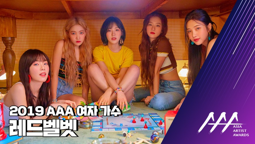 ★2019 Asia Artist Awards (2019 AAA) 레드벨벳★