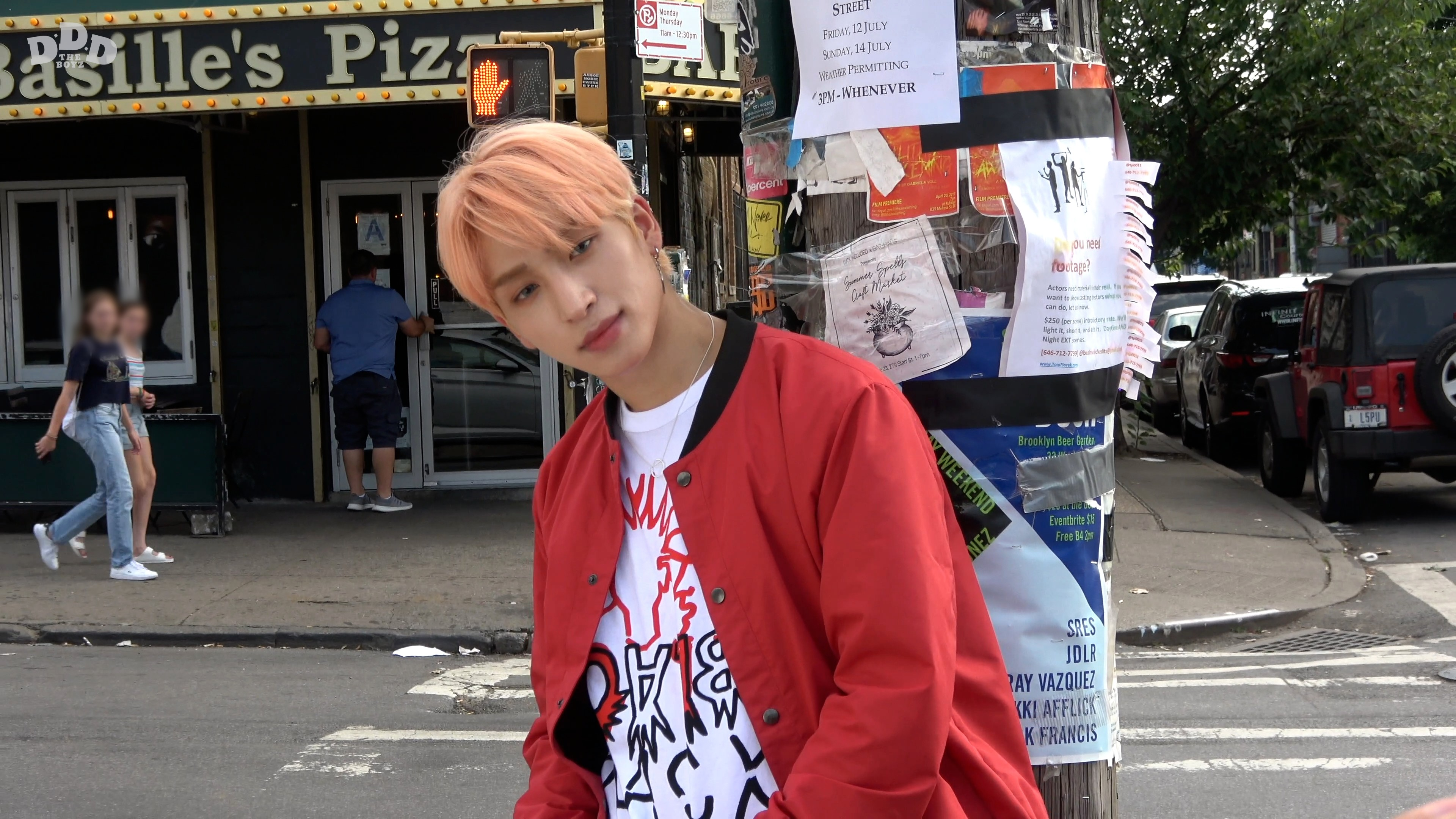 THE BOYZ(더보이즈) MINI ALBUM [DREAMLIKE] NY SHOOTING SKETCH ' SANGYEON'