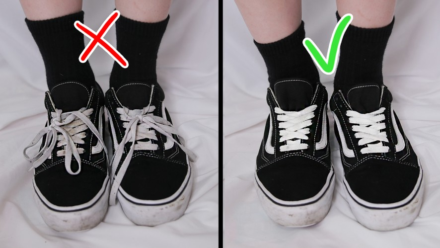 EUNBI✟How to hide your shoe laces 3easy wasy