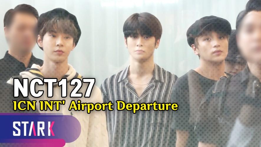 NCT127, 공항에서 겁에 질린 멤버들 (NCT127, 20190921_ICN INT' Airport Departure)