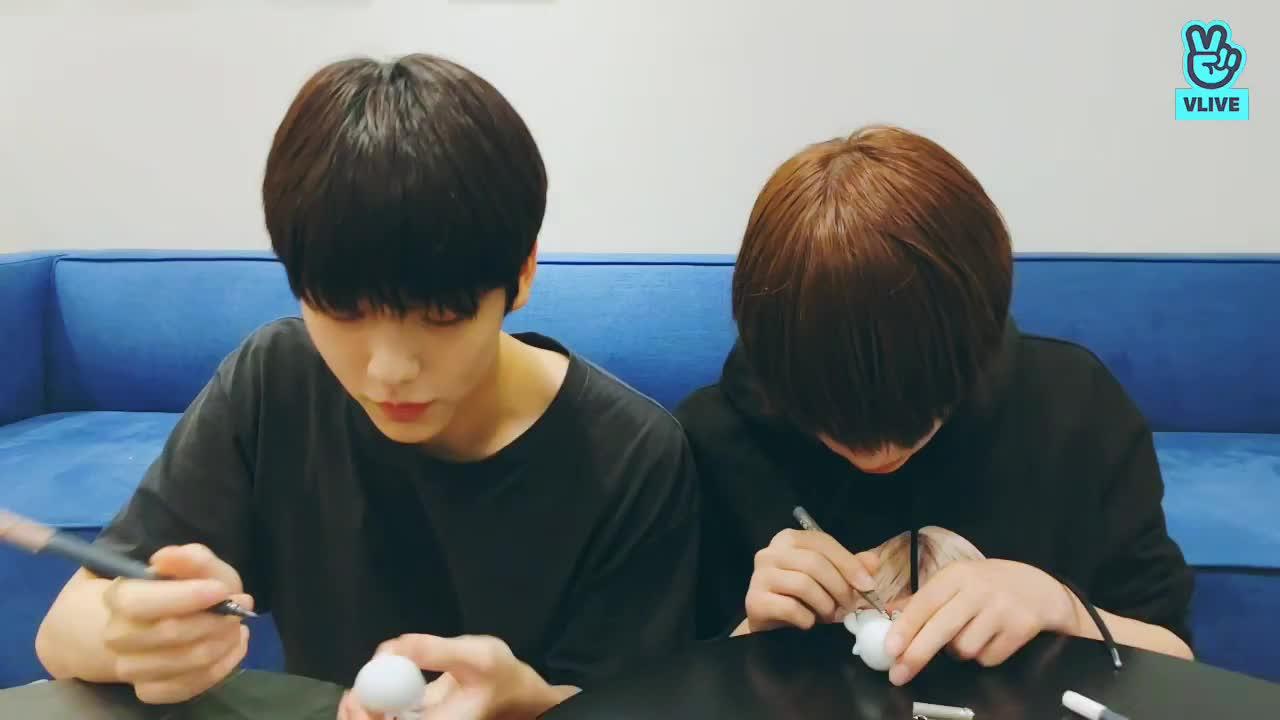 수빈&휴닝카이 : 뚝딱뚝딱 공작시간