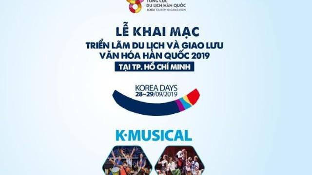 Lễ khai mạc - Triển lãm du lịch và giao lưu văn hóa Hàn Quốc 2019