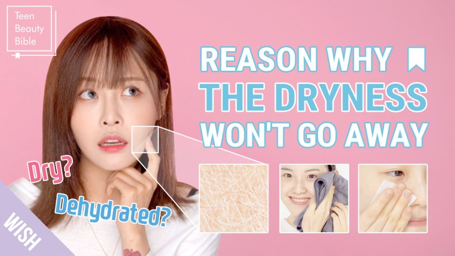 Dryness Doesn't Mean I Have Dry Skin?! 💦 IS MY SKIN DRY or DEHYDRATED? l Teen Beauty Bible