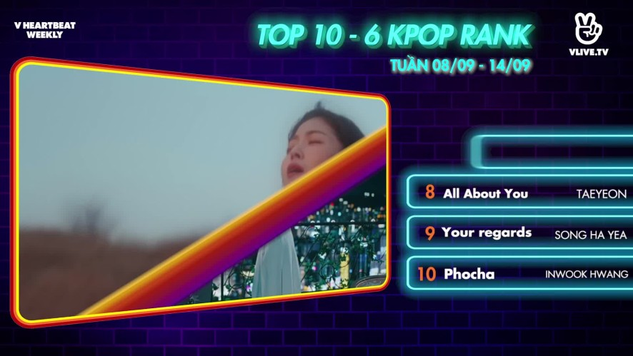 [V HEARTBEAT WEEKLY] Ep.62- K POP CHART & NEWS