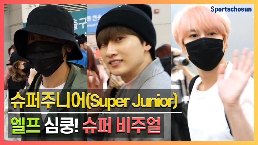 슈퍼주니어(Super Junior), 엘프 심쿵! 슈퍼 비주얼 (190927 Incheon Airport)