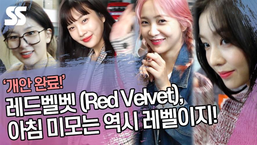 레드벨벳 (Red Velvet), 아침 미모는 역시 레벨이지! (인천공항)