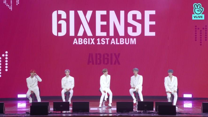 [Replay] AB6IX 1ST ALBUM [6IXENSE] SHOWCASE