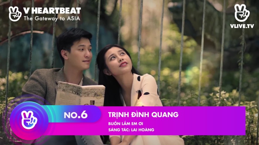 Top 10 V HEARTBEAT Rank tuần 22.09 ~ 28.09