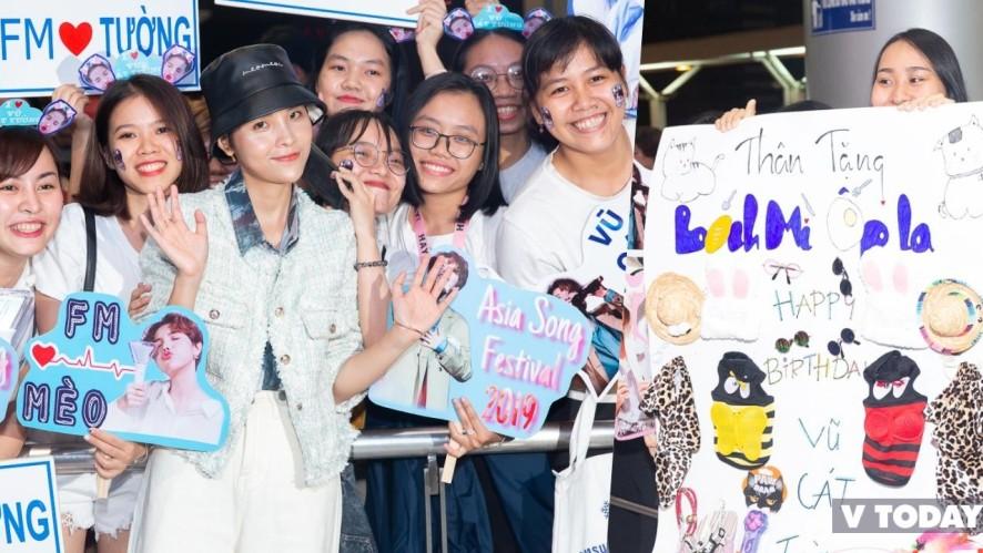 Mèo lên đường tham dự Asia Song Festival 2019, cảm ơn FM iu thương ❤