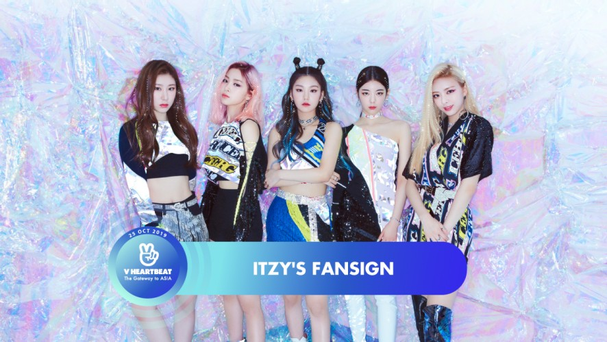 ITZY's Fansign - V HEARTBEAT LIVE OCTOBER 2019