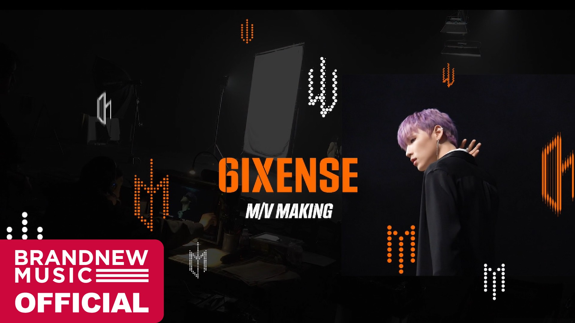 AB6IX (에이비식스) 1ST ALBUM [6IXENSE] M/V MAKING FILM