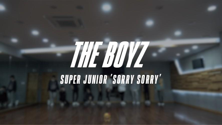 THE BOYZ(더보이즈) 'SORRY SORRY' DANCE PRACTICE VIDEO