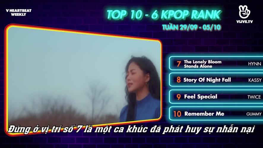 [V HEARTBEAT WEEKLY] Ep.65- K POP CHART & NEWS