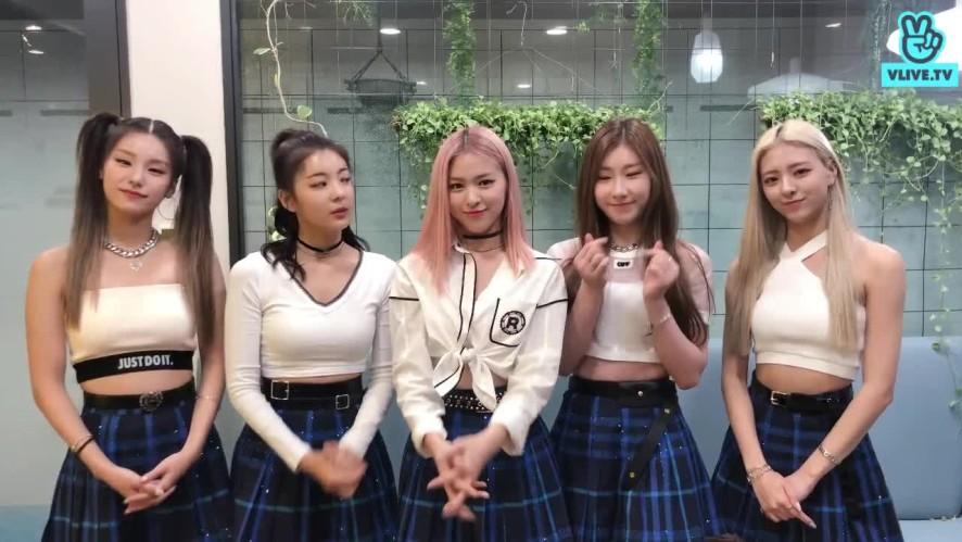 ITZY Greeting to Vietnam Fans for V HEARTBEAT Oct