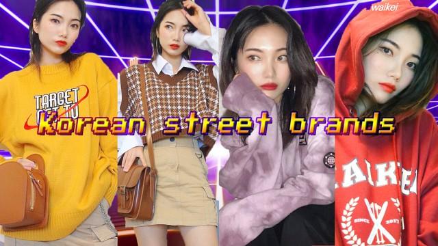KOREAN STREET FASHION BRANDS HUGE HAUL | FAIRY TINA