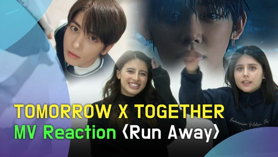 TOMORROW X TOGETHER 'Run Away' MV Reaction (TXT '9와 4분의 3 승강장에서 너를 기다려' 뮤비 리액션)