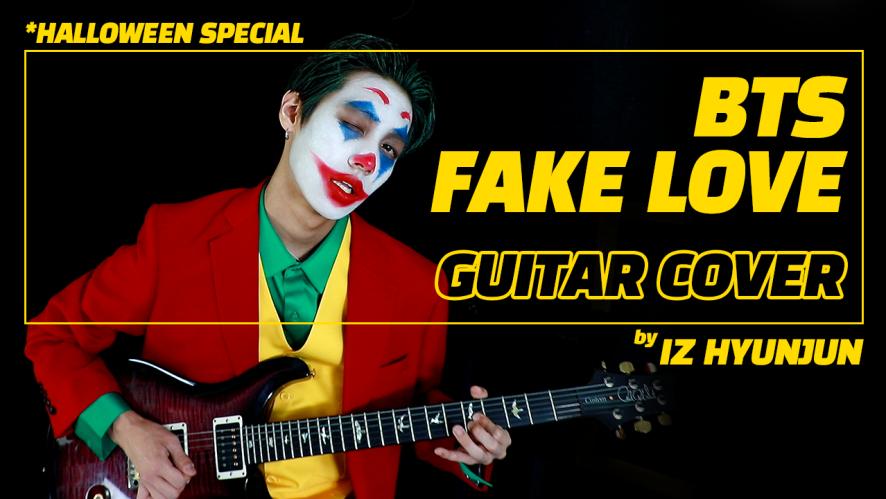 [IZ] Halloween Special Clip : BTS - FAKE LOVE COVER by HYUNJUN