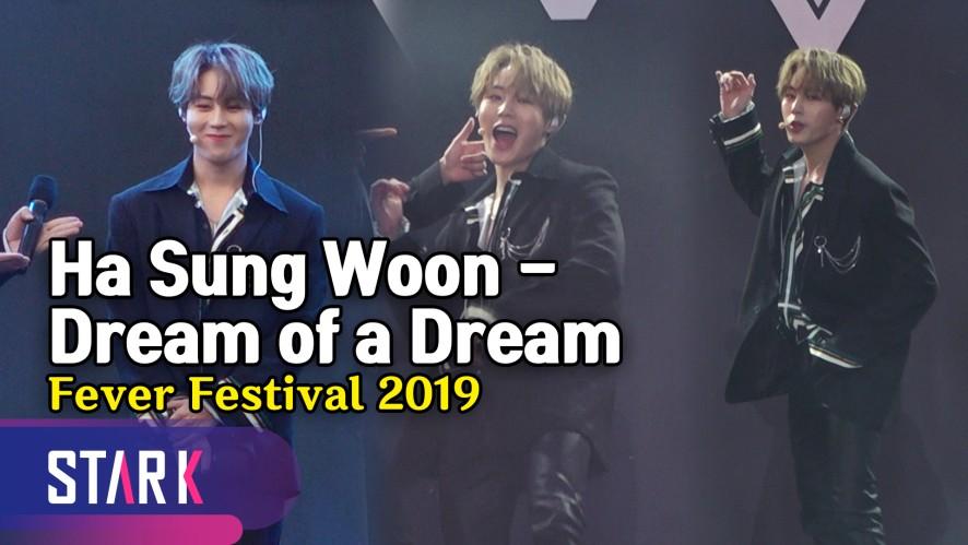 하성운 멘트 & 'Dream of a Dream' 대망의 첫 무대! (Ha Sungwoon 'Dream of a Dream' Stage)