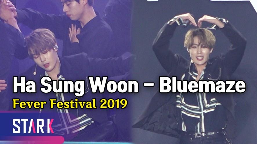 아름다운 응원법! 하성운 'Bluemaze' 무대 (Ha Sungwoon 'Bluemaze' Stage)