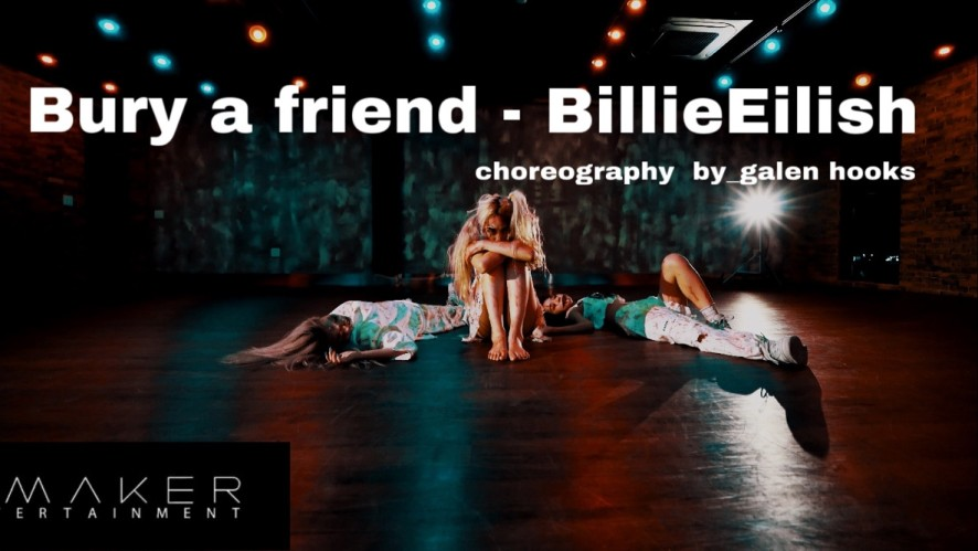 Billie Eilish - bury a friend (choreography galen hooks) Cover By_LIMESODA