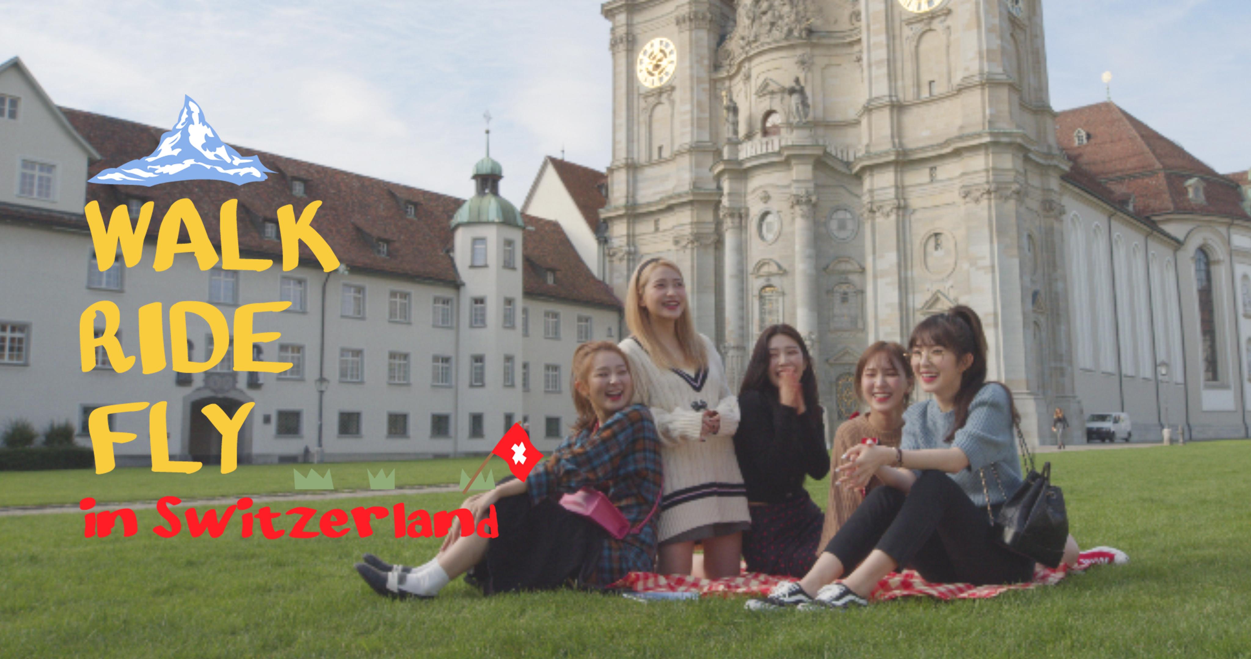 걷고🚶♀타고🚞맛보고🥐즐기고🥂|Walk, Ride, Fly with Red Velvet EP.1
