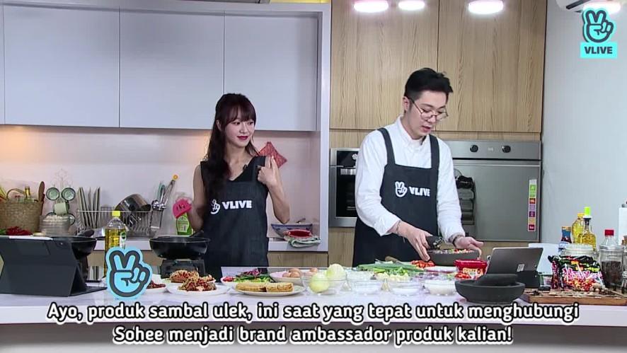 [V PICK!] Masak Sambal Matah Bersama Sohee dan Jun Chef