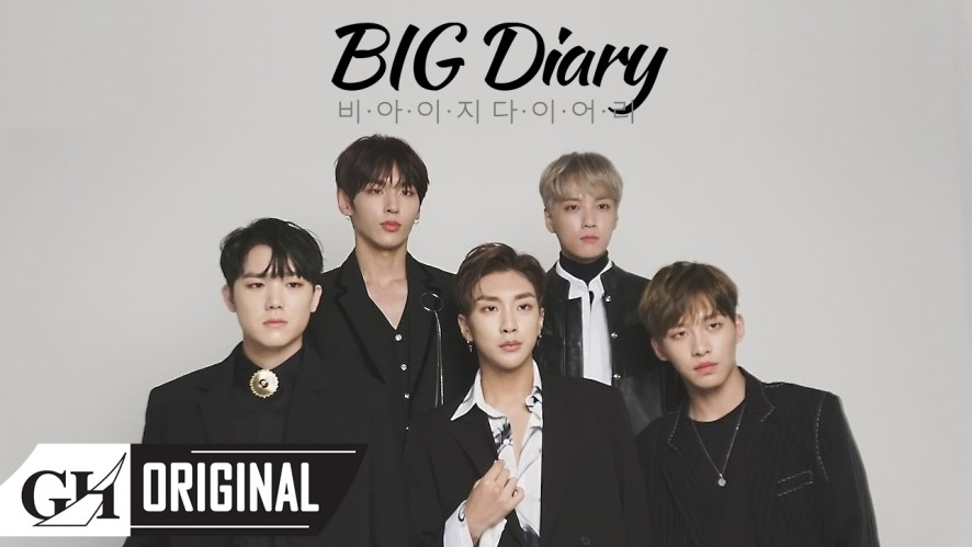"B.I.G(비아이지)Diary ㅣ""ILLUSION"" jacket shooting behind"